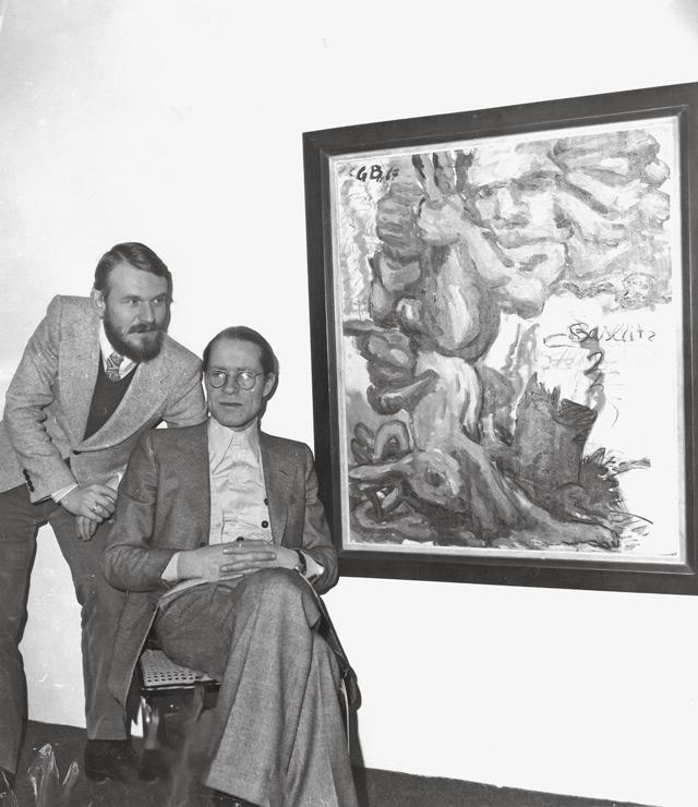 Heiner Friedrich und Fred Jahn