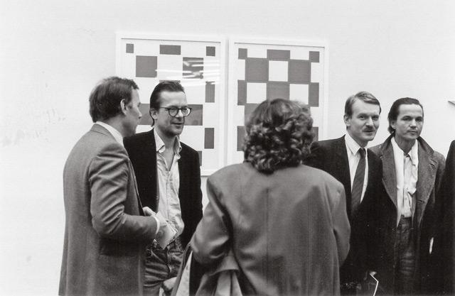 J. W. Fröhlich, Imi Knobel, Franz Dahlem und Fred Jahn