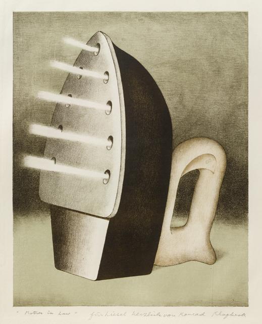 Konrad Klapheck, Die Schwiegermutter, 1967-68