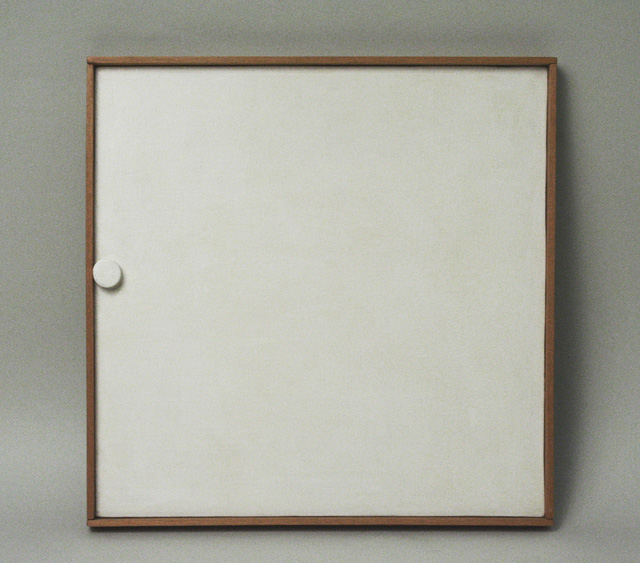Heinz Butz_Ohne Titel 1968_Bildobjekt_shaped canvas_Galerie Fred Jahn